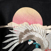 Phoenix Embroidery T-Shirt