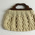 """Aran knit bag"""