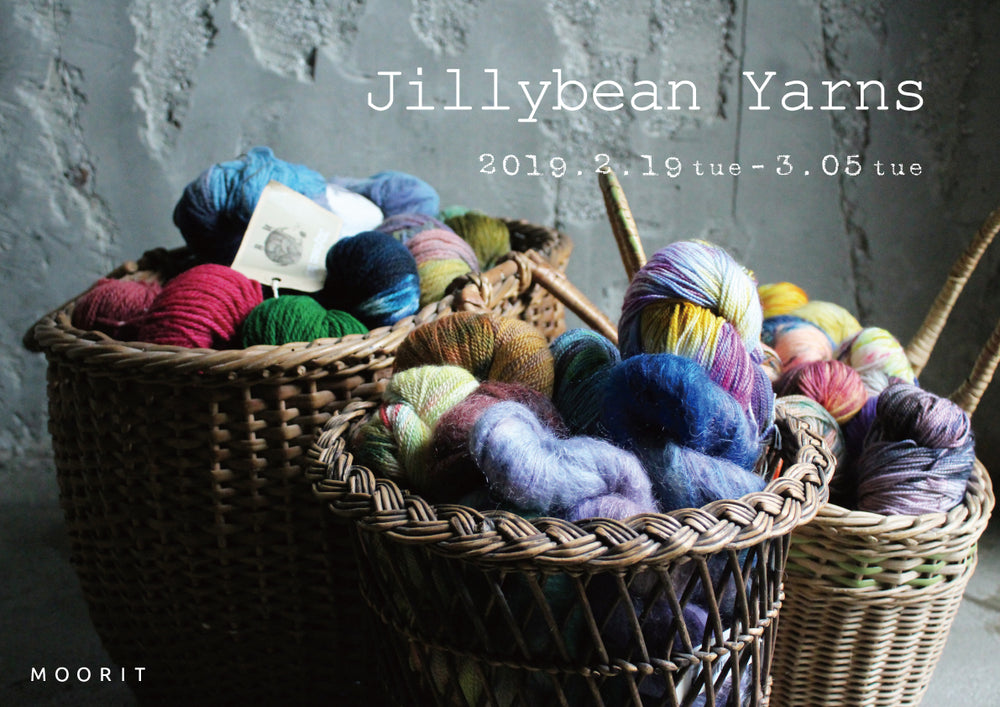 MOORITウィンドウ 「Jillybean Yarns」