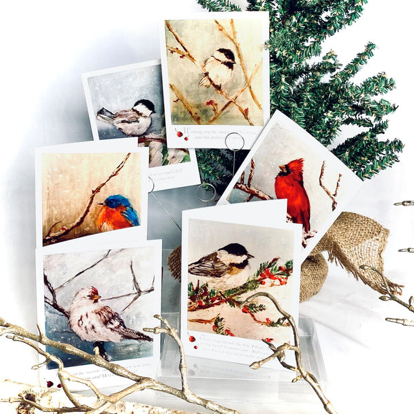 Jodi Hills Christmas Card Collection - Set of 12