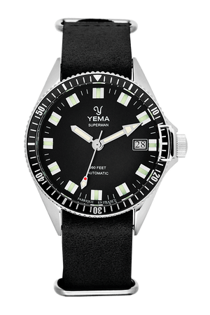 Yema Superman Black Automatic