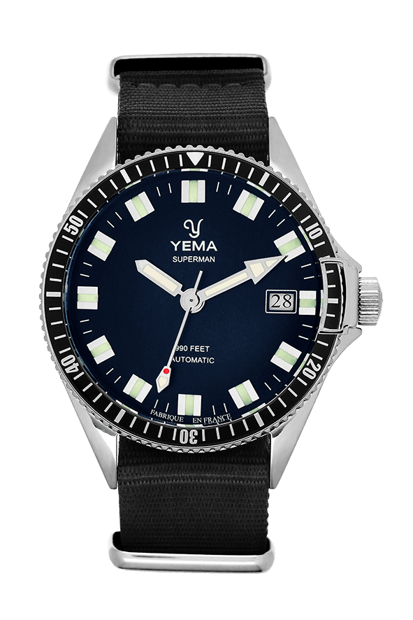 Yema Superman Mysterious Blue Automatic