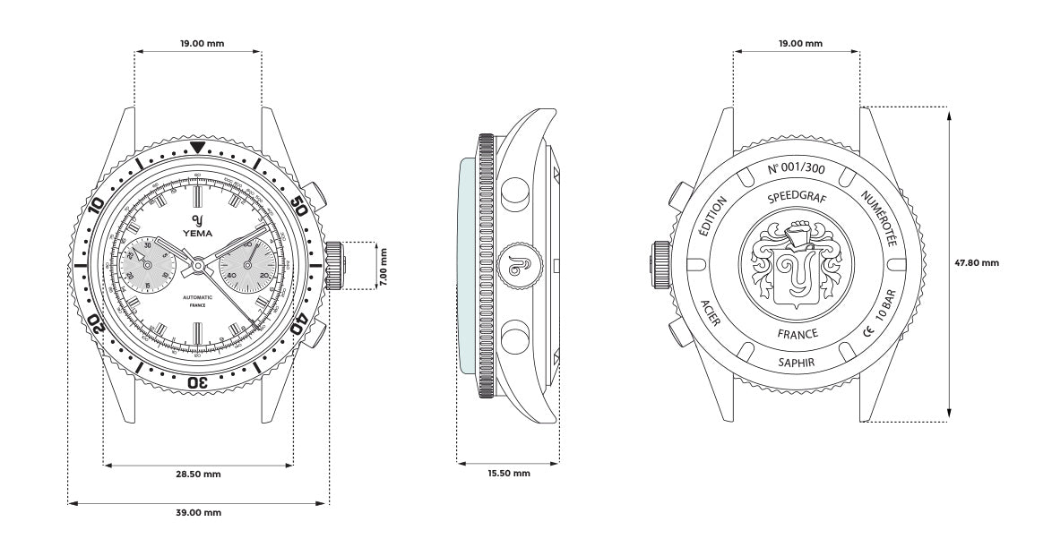 Speedgraf Technical Drawing