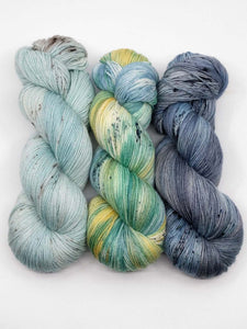 ACADIA COASTLINE  3 Skein- Shawl Kit