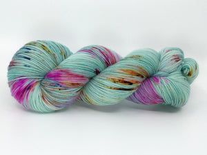 ALPINE WINTER FLORA - Deluxe Sock