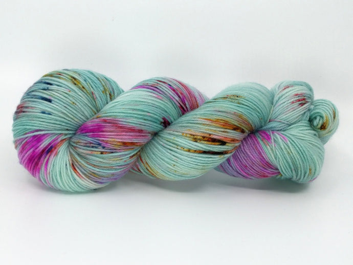 ALPINE WINTER FLORA- Merino Twist