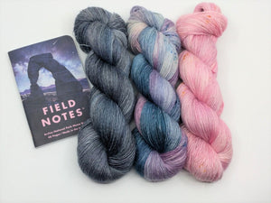 ARCHES  National Park 3 Skein- Shawl Kit