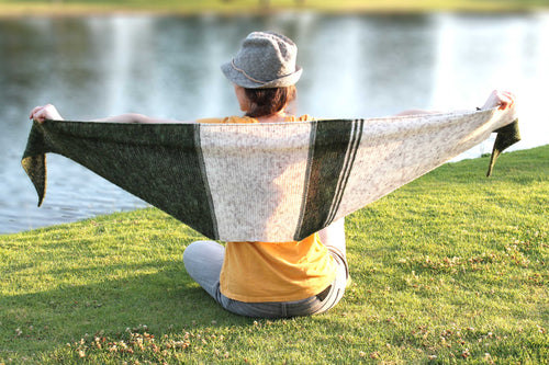 WALDEN CAMPSIDE SHAWL