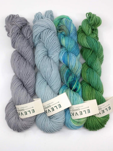 CHANNEL ISLANDS Mini-Skeins- set of 4