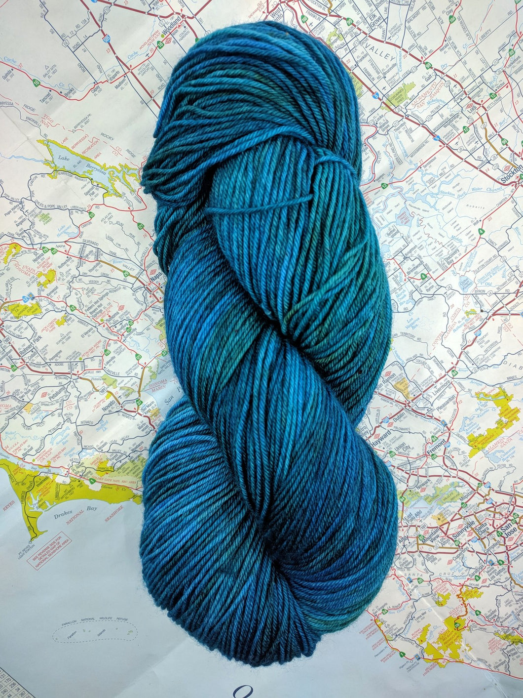 DEEP WATERS- Merino Twist