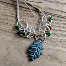 Silver-Plated Pewter Stitch Markers - DEEP WOODS