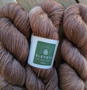 DEVIL'S FOOD - Silky Mulberry Merino