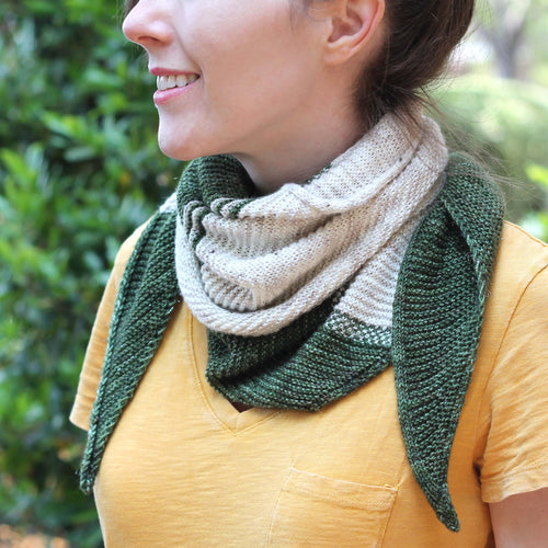 WALDEN CAMPSIDE SHAWL- kit