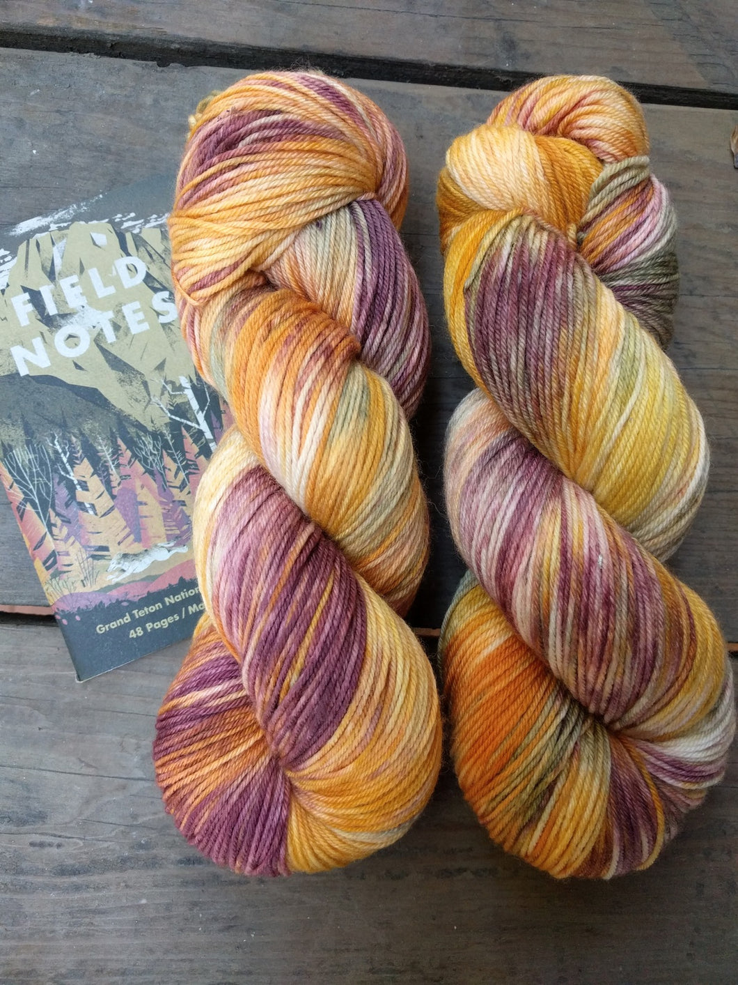 GRAND TETON AUTUMN- Merino Twist