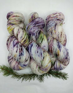 GRAPE SODA LUPINE - Merino Twist