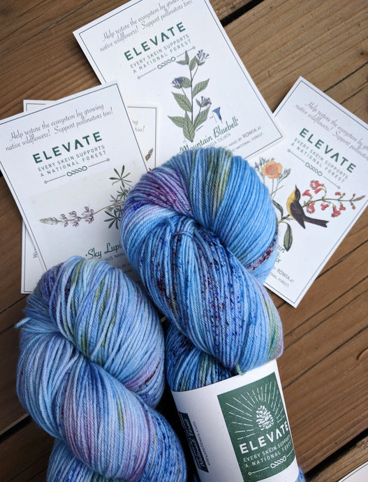 HEAPS PEAK WILDFLOWERS - Deluxe Sock