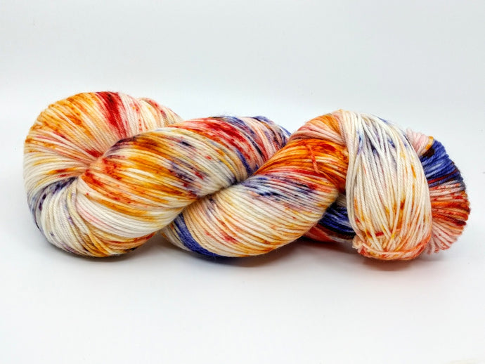 HUMMINGBIRD with Tangerine mini- Deluxe Sock