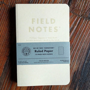 Field Notes- Signature