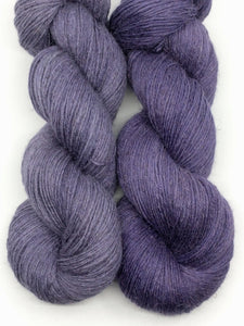 ICED PLUM-Natural Dye,  Linen Loft