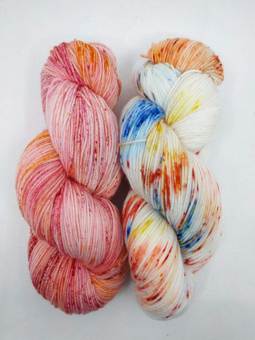 NASTURTIUM & POPPIES- 2 Skein Set