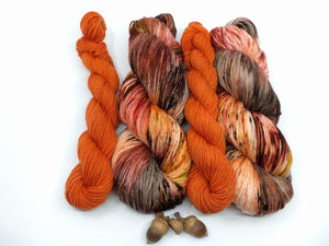 ORCHARD BAY with Toasted Pumpkin- sock kit