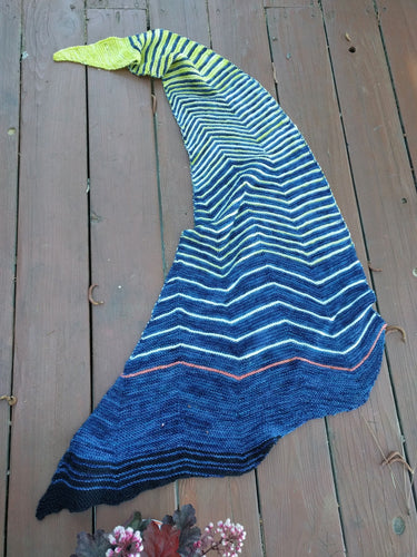 PACIFIC PINE- Shawl kit
