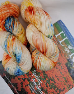 CALIFORNIA POPPY RESERVE- Merino Twist