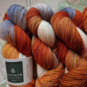 RED FOX at DAWN - Deluxe Sock
