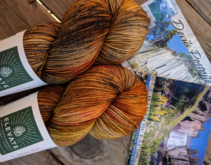 REDS MEADOW, Pacific Crest & John Muir Trails - Deluxe Sock