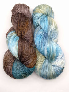 CALIFORNIA SEA OTTER - Silky Merino kit
