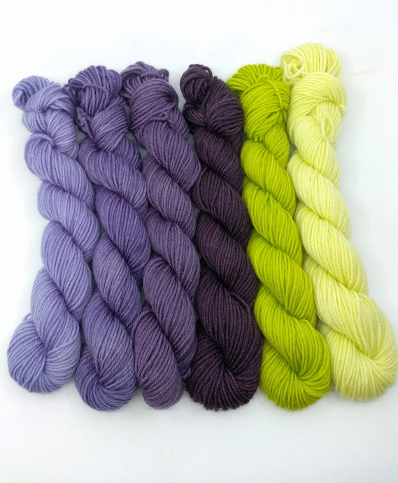 SERENE Mini-Skeins- set of 6
