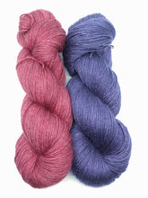 EXPLORER BLUE - Natural Dye, Silky BFL Sport