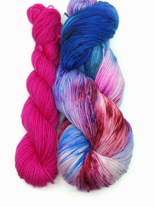 YOSEMITE SKY with Wild Orchid - Sock Kit