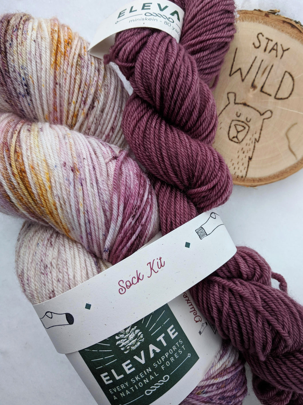 GRAPE SODA LUPINE- sock kit