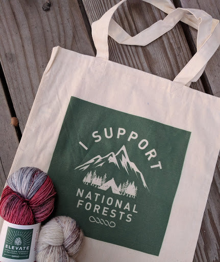 Lightweight Tote - I Support National Forests Bag