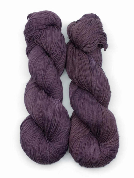 ICED PLUM- Natural Dye, Linen & Organic Cotton