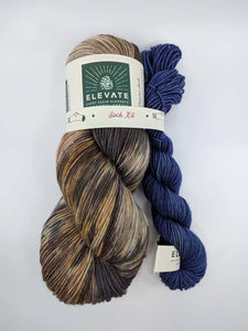 CHARRED PONDEROSA with Dark Sky- sock kit