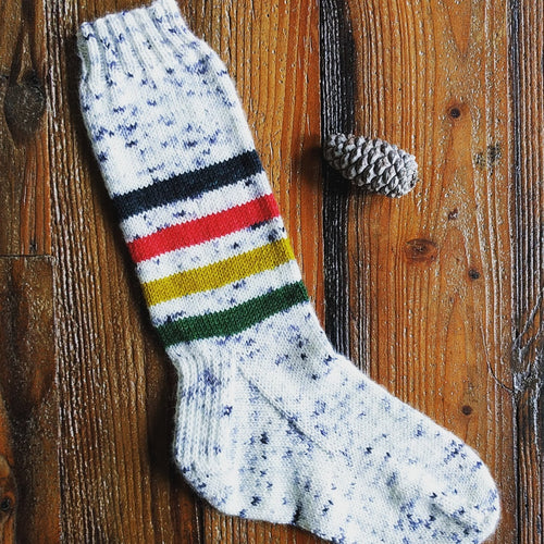 VINTAGE NATIONAL PARK SOCK