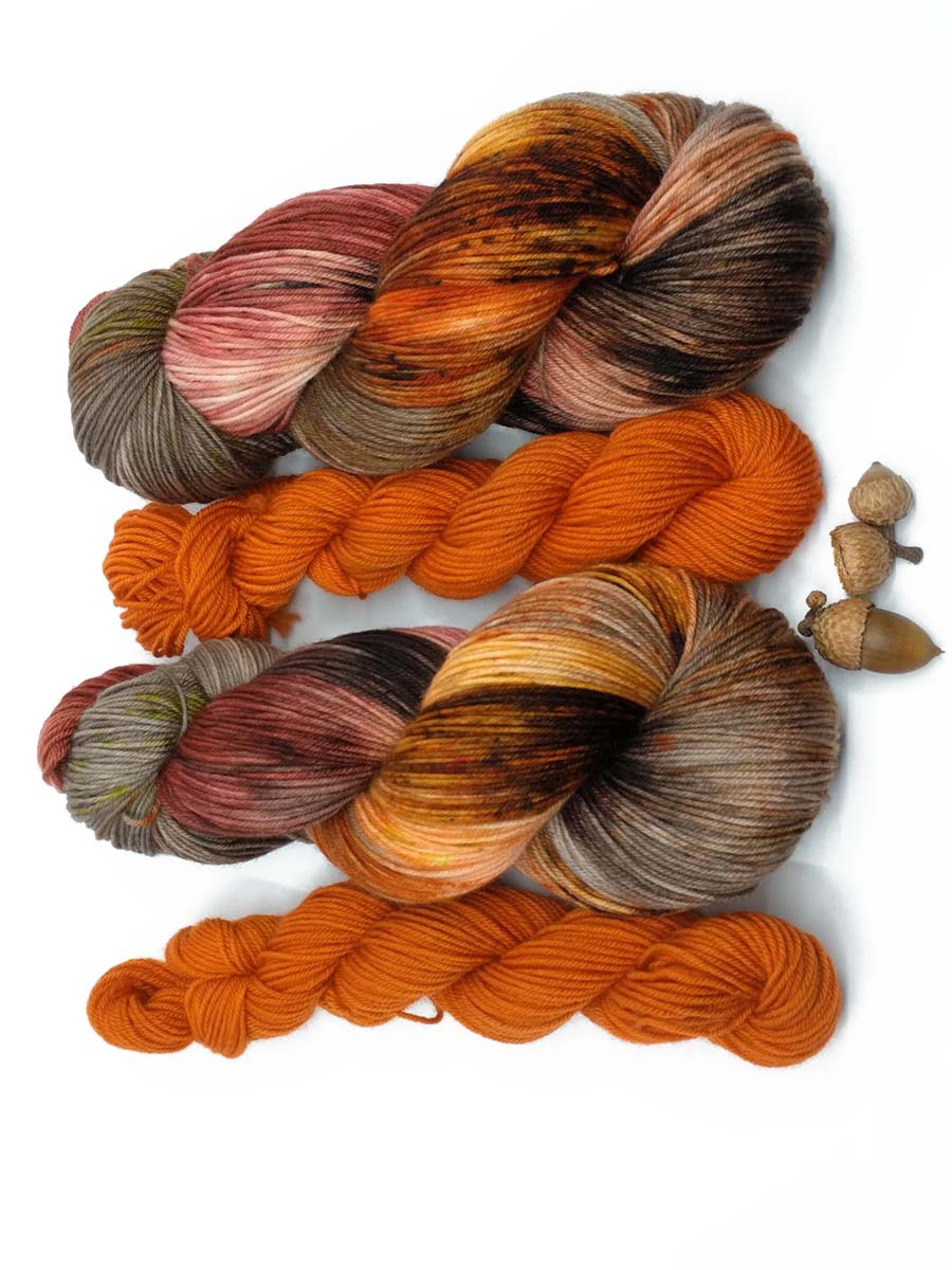 WANDERING SPIRIT with Spiced Pumpkin- sock kit