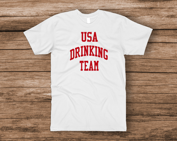 USA Drinking Team T-Shirt