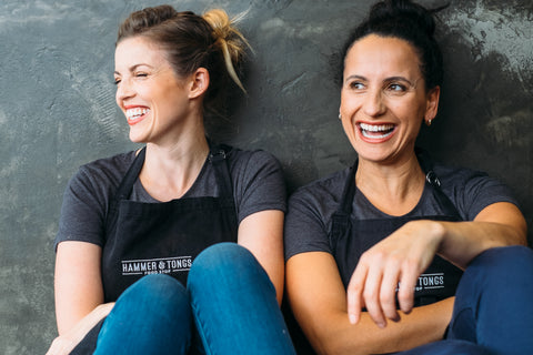 Kate & Mia Hammer & Tongs Gluten Free Food Delivered NZ