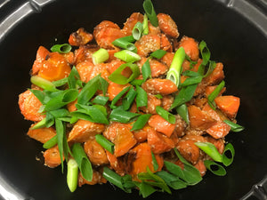 Hoisin and Sesame Glazed Carrots