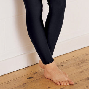 Black Lycra Footless Tights