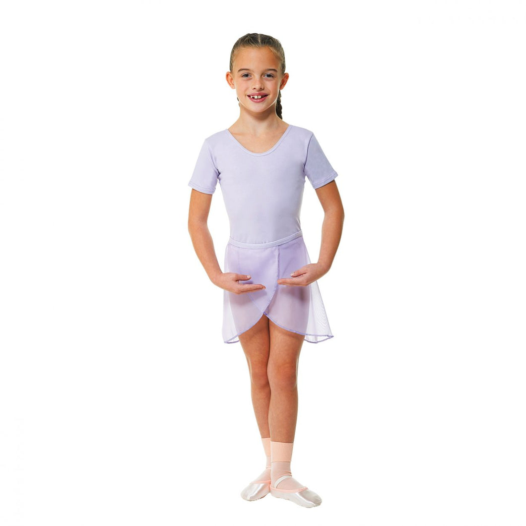 Lilac Short Sleeved Leotard