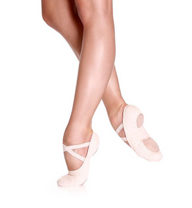 So Danca Canvas Stretch Split Sole Ballet Shoe