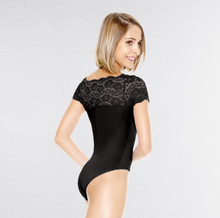 So Danca Lace Top Leotard