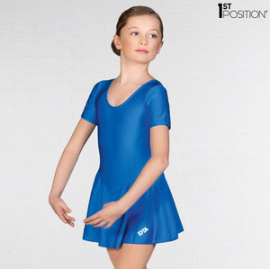 Royal Blue Skirted IDTA Leotard