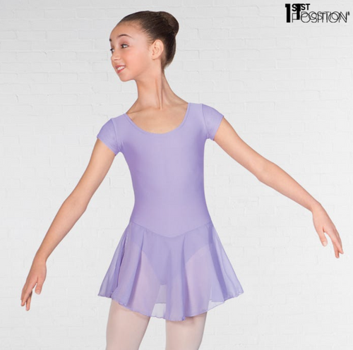 Lilac Skirted Leotard IDTA