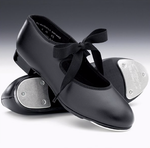 Capezio Tyette Tap Shoes with Toe and Heel Taps
