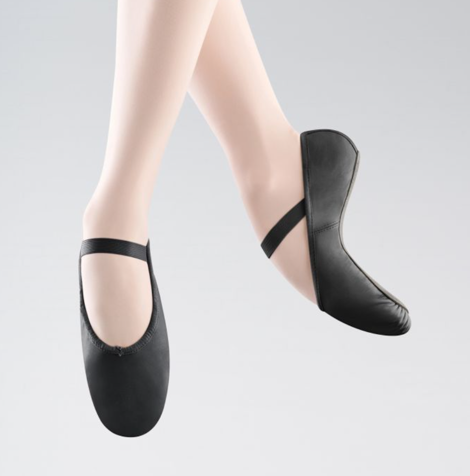 Bloch Arise Full Sole Ballet Shoe - Black